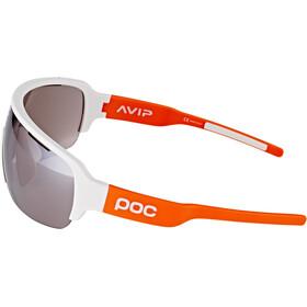 POC DO Half Blade AVIP Gafas, hydrogen white/zink orange